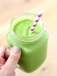 Green soymilk
