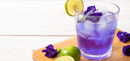 Butterfly Pea Lime Juice