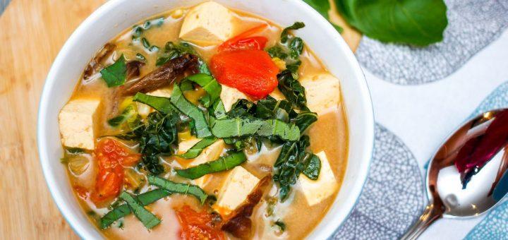 Vegetarian Tom Yum Noodles