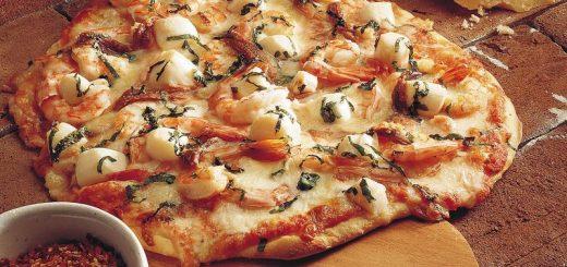 Seafood Pizza Whole Wheat Bread
